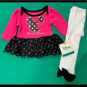 🆕 Disney Baby 2pc Outfit
